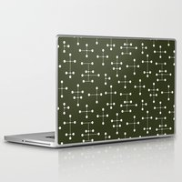 eames Laptop & iPad Skins featuring Eames Era Dots 27 by Makanahele