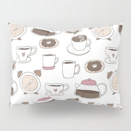 Coffee Time Pillow Sham