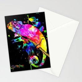 Chameleon Splash Stationery Cards