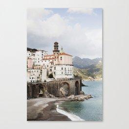Amalfi Coast, Atrani Canvas Print
