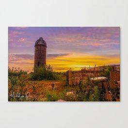 Sawmill Canvas Print