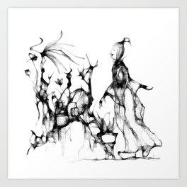 concubine - cs139 Art Print