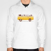 bag Hoodies featuring Yellow Van by Florent Bodart / Speakerine