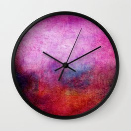 Square Composition X Wall Clock