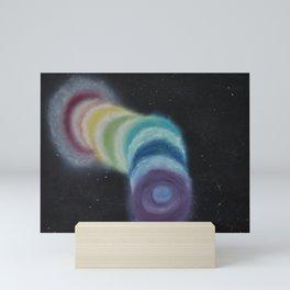 Chakra Wormhole Mini Art Print