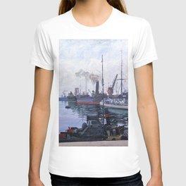 12,000pixel-500dpi - Sir John Lavery - Leith - Digital Remastered Edition T-shirt