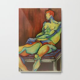 Colour Distortion Metal Print