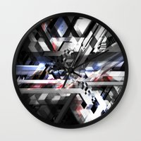 sonic Wall Clocks featuring Sonic by Subcon