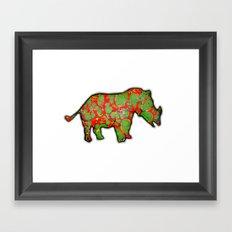 gergo Framed Art Print