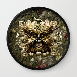Jack In the Green Wall Clock