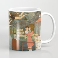 moonrise kingdom Mugs featuring Moonrise Kingdom by Anne Lambelet