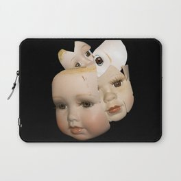 Little Broken Dolly Face - Halloween VI Laptop Sleeve