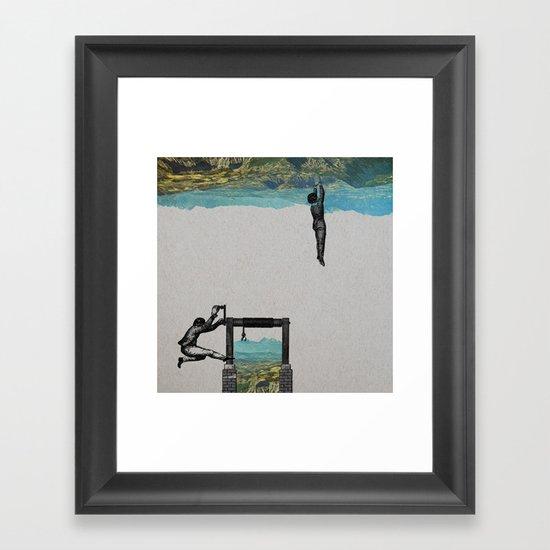 Territoire2 Framed Art Print