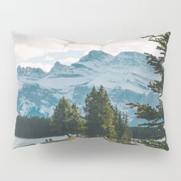 Two Jack Lake & Mt. Rundle Pillow Sham