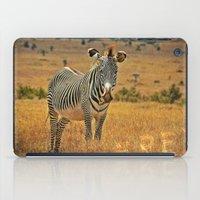 zebra iPad Cases featuring Zebra by minx267