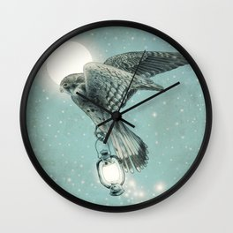 Nighthawk  Wall Clock
