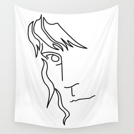 Patti Smith - Word art Wall Tapestry