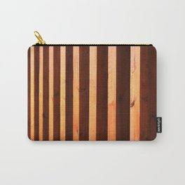 Wooden beams Carry-All Pouch