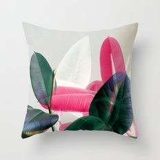 Greenery Mix Throw Pillow