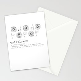 Wallflower Stationery Cards