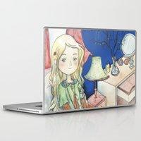 luna lovegood Laptop & iPad Skins featuring Luna Lovegood by malipi