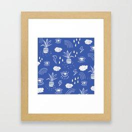 Icons Framed Art Print