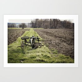 Out of Season Art Print