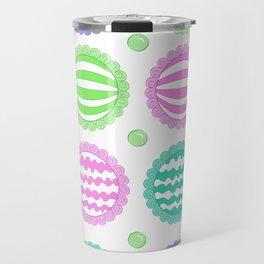 Sugar Treats Pattern Print Travel Mug