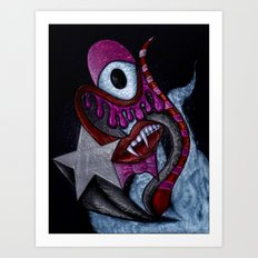 Vampire Life Art Print