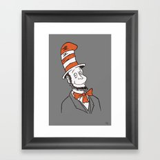 Honest Cat Framed Art Print
