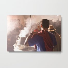 Comme superman Metal Print