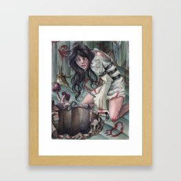 Torture of Wonderland  Framed Art Print
