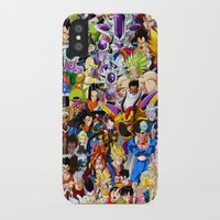 dragonball iPhone & iPod Cases featuring DragonBall Z - Insane amount of Characters by Mr. Stonebanks