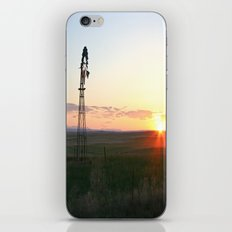 Montana Sunset iPhone & iPod Skin