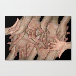 Handy Canvas Print