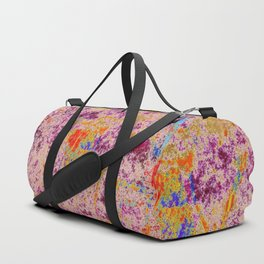 Astract Pink 04 Duffle Bag