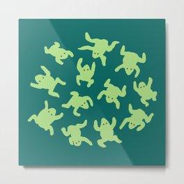 Froglets Metal Print