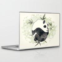yin yang Laptop & iPad Skins featuring Yin Yang by Sah Matsui