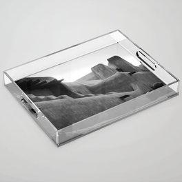 Adobe Lines Acrylic Tray