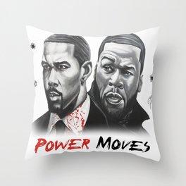 Power Moves Throw Pillow