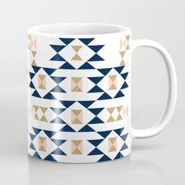 Jacs - Modern pattern design in aztec themed pattern navajo print textile cute trendy girl Coffee Mug