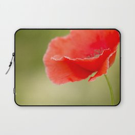 Miss you so much Red Poppy #decor #society6 Laptop Sleeve