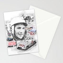Stirling Moss, Portrait Stationery Cards