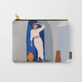 Summer in Santorini Carry-All Pouch