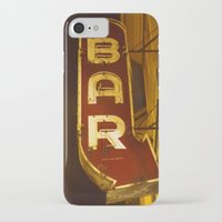 bar iPhone & iPod Cases featuring Bar by Joseph Skompski