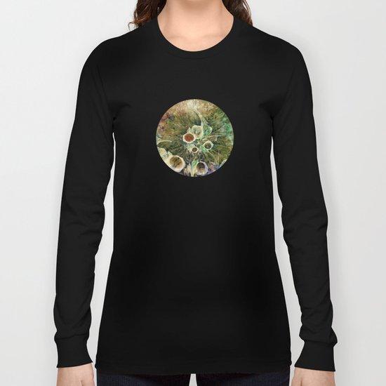 Fractal Bouquet - color variation Long Sleeve T-shirt