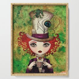 Lady Hatter Serving Tray