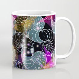 C13D Seashell Sparkle Coffee Mug