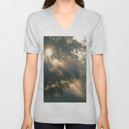 """ Heaven Shining "" Unisex V-Neck"