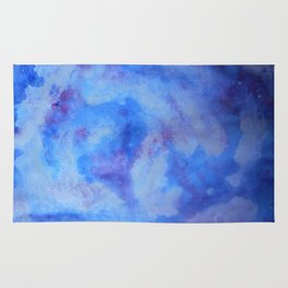 Night cloudy sky Rug